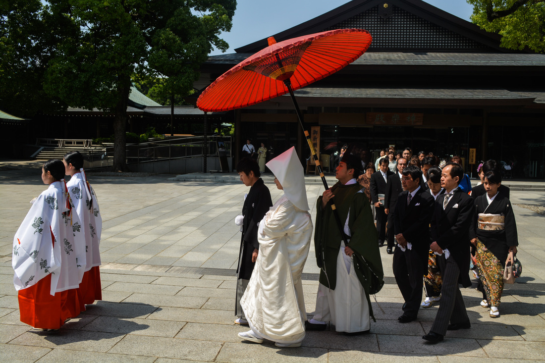 A Wedding in Kyoto, Japan