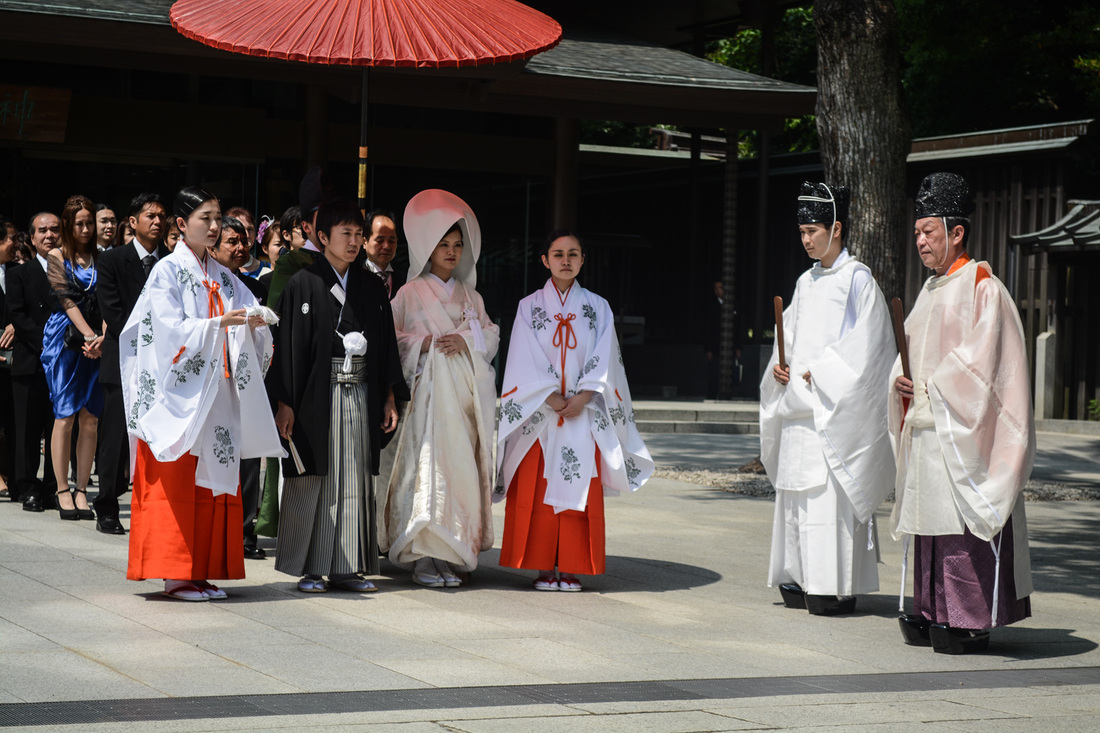 A Traditional Wedding in Kyoto, Japan